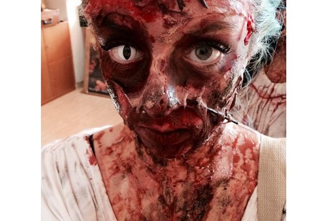 maquillaje zombie 1